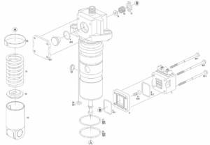 Ремонт форсунок (PLD секций) Mercedes Actros Bosch
