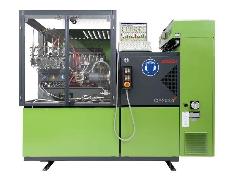 Оригинальный, авторизованный испытательный стенд Bosch EPS 815 производства Германия с дооснащением Сambox. Для ремонта форсунок (насос-форсунок) Bosch, PDE и прочих.