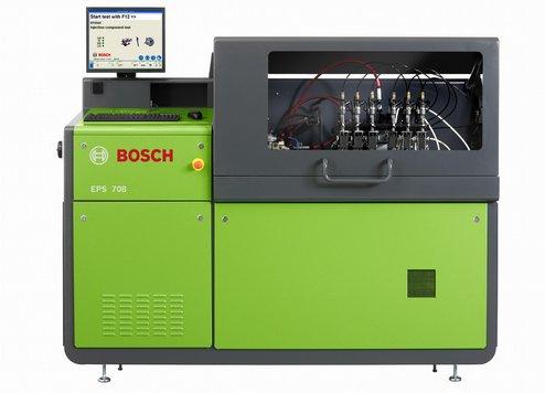 Оригинальный, авторизованный испытательный стенд Bosch EPS 708 производства Германия с измерительной системой Step 3. Для ремонта форсунок Common Rail Bosch