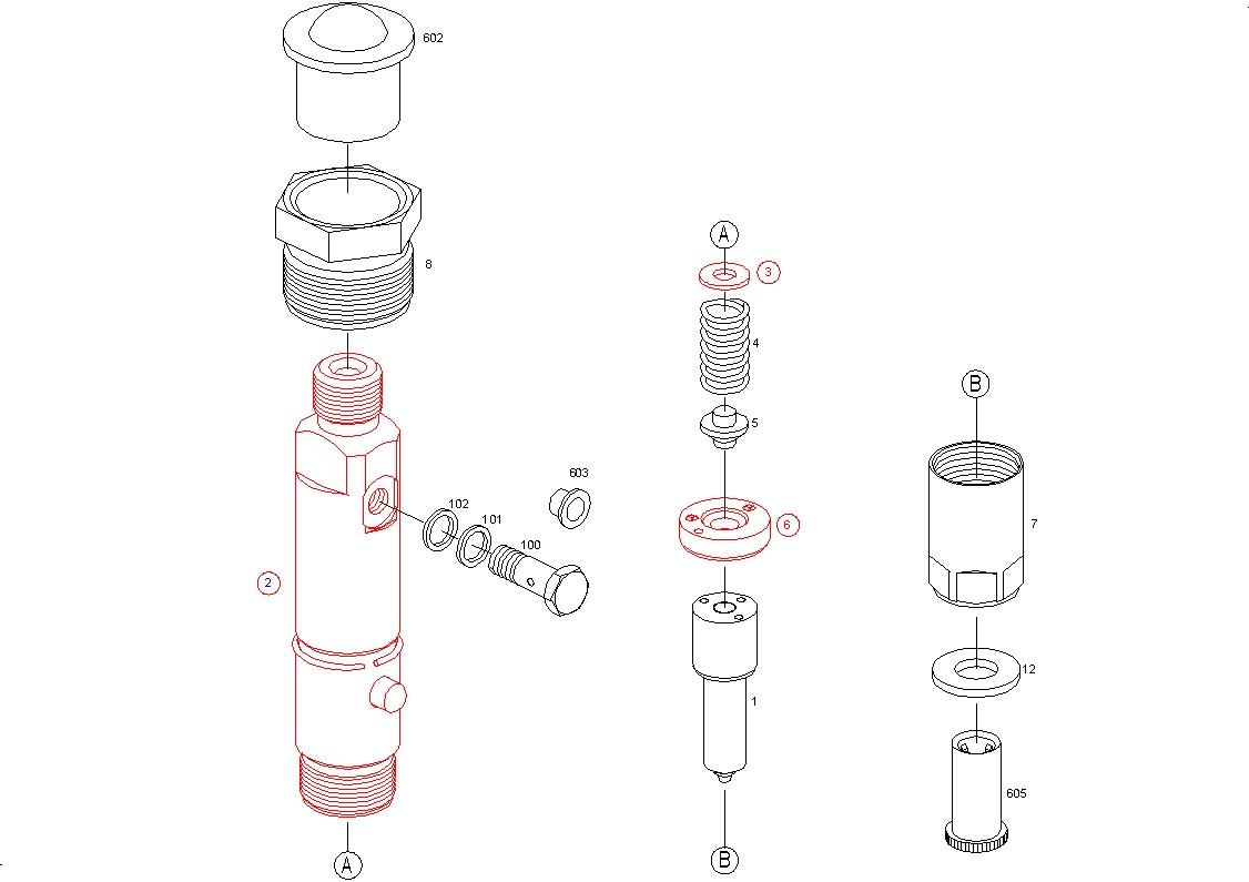 Ремонт форсунок MAN TGL на оригинальном авторизованном оборудовании Bosch EPS 815 и Bosch EPS 100.